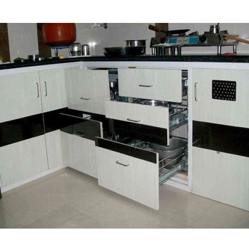 Kaka Pvc Kitchen Furniture: PVC Kitchen Cabinet At Rs 320 /square Feet