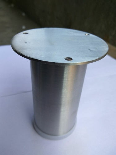 2 4 Inch Round Ss Stainless Steel Sofa Legs