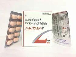 Aceclofenac 100 MG Paracetamol 325 MG