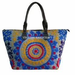 Handmade Suzani Embroidered Ladies Bag