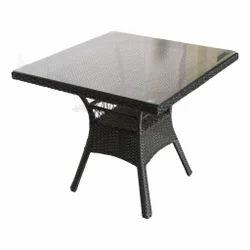 Garden Rattan Table