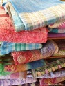 Handmade Kantha Throw Vintage Kantha Throw