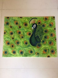Rocking Peacock Painting