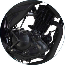 Ultralight And Robust 155 CC Engine
