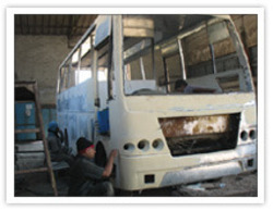 Bus Denting And Painting Service