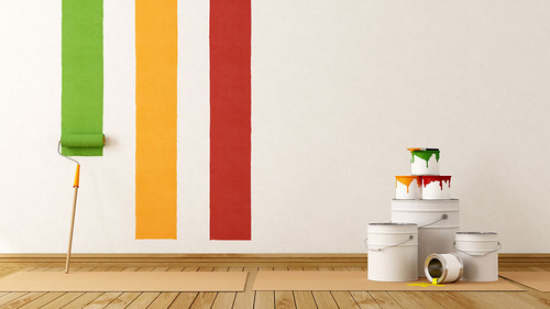 Interior Wall Paint Service, Contract Painting, Contract