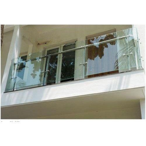 Glass Balcony Railing at Rs 1500 /running feet   Balcony ...