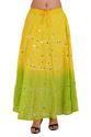 Long Bandhej Skirt