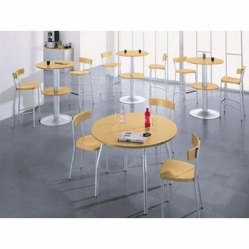 Round Meeting Table Baithak Mein Rakhi Jane Wali Mez Modular - Modular meeting table