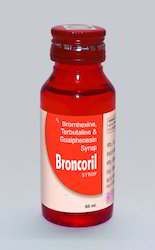 Bromhexine Terbutaline And Guaiphenesin Syrup