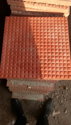 Coloured Check Tile