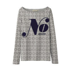 Ladies Printed Long Sleeves T Shirts