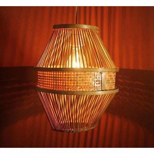 Ideal Hanging Bamboo Lamp, Hanging Bamboo Lamp - Creation, Kolkata | ID  JJ99