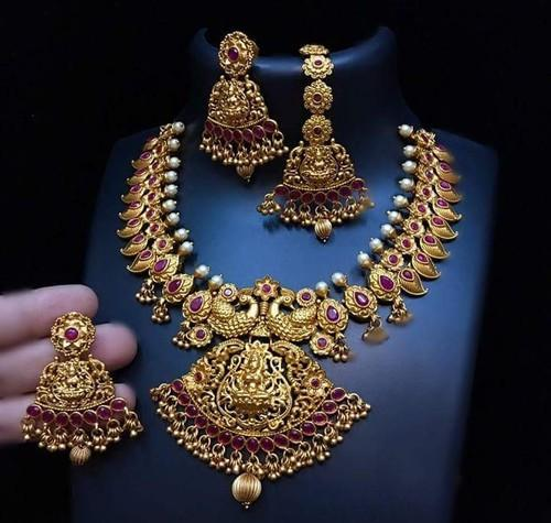 Temple jewellery - Traditional Indian Temple Jewellery