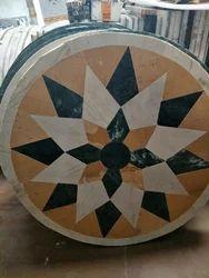 Marble Rangoli Art