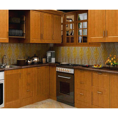 Modular Kitchen - Wooden Modular Kitchen Authorized ...