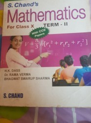 Mathematics book(for 10th class) s.chand