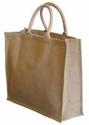 Jute Bags With Cotton Padded Handle