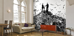 Customised Wall Paper Wall Covering