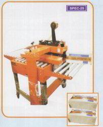 Automatic Cotton Box Tapping Machine