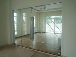12 m.m. Toughened Glass Door