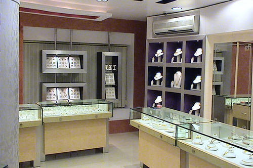 gold shop interior design ideas