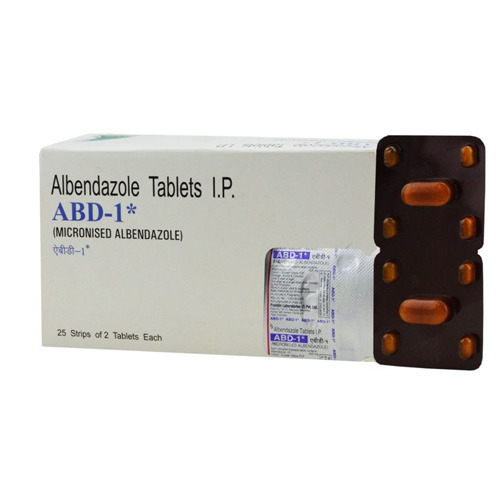 ABD 1 Albendazole Tablet Usage Clinical Hospital