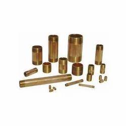 Half Threaded Copper Pipe Nipples, Size: 1/2