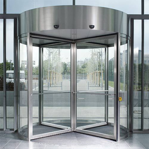 Automatic Revolving Doors Size/Dimension Customised & Automatic Revolving Doors Size/Dimension: Customised | ID: 4334311155