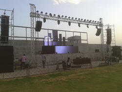 Aluminum Light & Sound Truss
