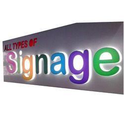 Multi Color LED Sign Board