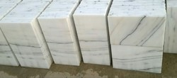 Indian Marble Makrana Albeta Tiles, for Flooring,Countertops,Wall Tile,Hardscaping, 10-15 mm,15-20 mm