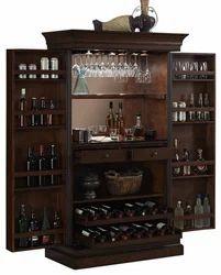 Wood Modern Bar Cabinet