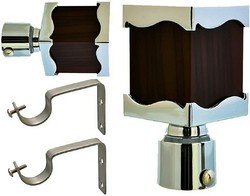 Square Pipes Curtain Bracket