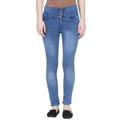 Slim Stretchable Ladies Jeans, 15 To 59, Stretchable: Yes