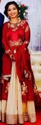 Women Silk Indo Western