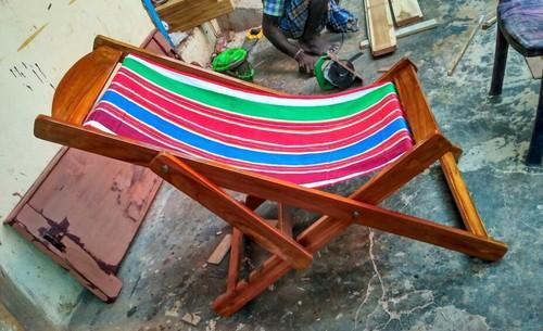 Eazy Teak Wood Chair Relaxing Chair Size Dimension 5 Feet Rs 5500