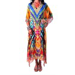 Trendy Digital Kaftan