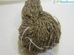 Raw Tussah Silk Handspun Yarn (No-124)