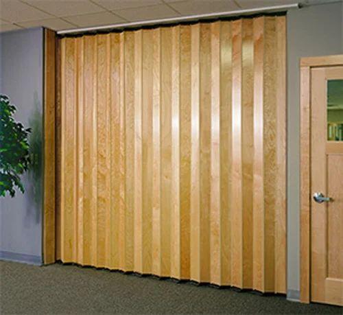Folding Door Wooden Colour At Rs 200 Sqft Chembur East