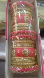 Kundan Bangle Set