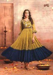 Elegant Stylish Anarkali Cotton Kurtis