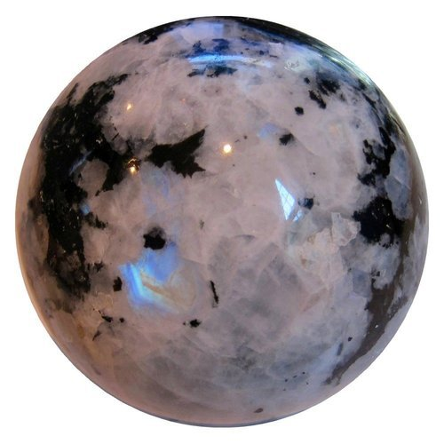 rainbow moonstone sphere ball at rs 2500 kg vivek vihar jaipur