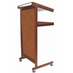 Brown Metal Lectern Or Podium, Size: 590mm X 450mm