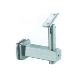 SS Square Glass Connector