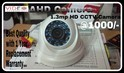 Vidcab Dome Camera Hd Cctv Camera, For Indoor Use