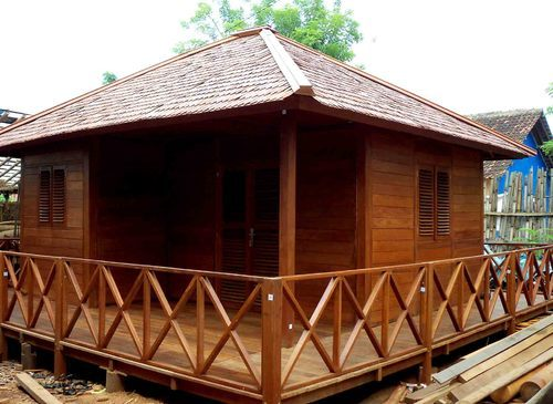 Wooden House Construction In India Wooden House Cottage