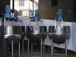 Mixing Kettles, Capacity: 50 - 500 Ltrs