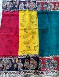 Kalamkari Silk Dying Sarees