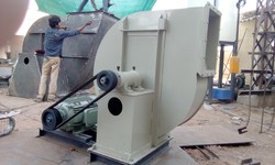 Belt Driven Centrifugal Fans & Cyclones